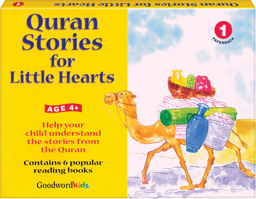 Quran Stories for Little Hearts: Age 4+