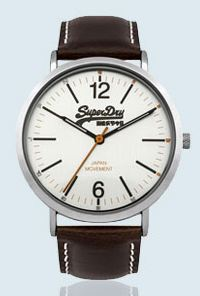 Superdry Gents Oxford Leather Watch