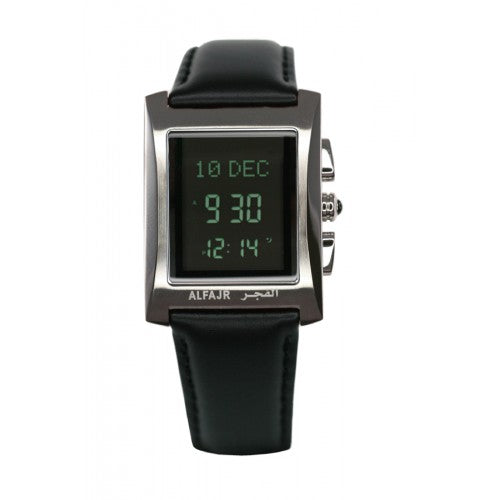 Ladies Black Al Fajr Leather Watch