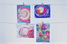 "yogaART gift set ""lotus"""