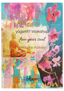 "yogaART workshop ""free your soul"" 