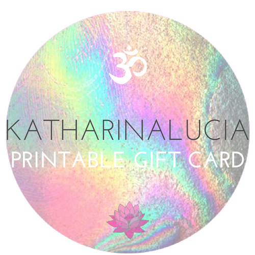 katharinalucia PRINTABLE GIFT CARD $75