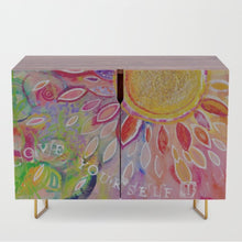 "Credenza ""love yourself"""