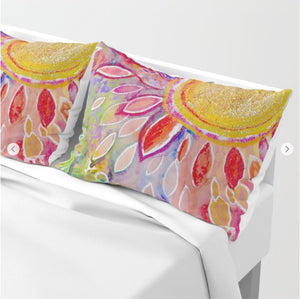 "Pillow Sham ""love yourself"""