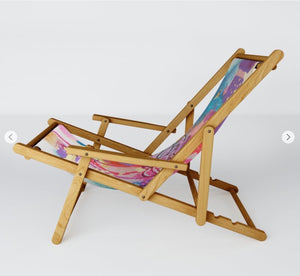 "Sling Chair ""Drown in love, bathe in gratitude, swim in abundance"""