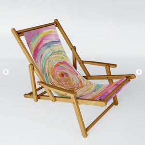 "Sling Chair ""you are enough"""