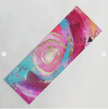 "Yoga Mat ""shine like the whole universe is yours"""