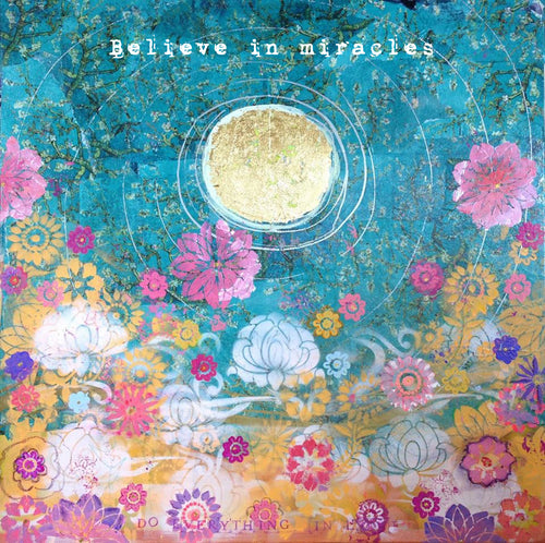 believe in miracles print
