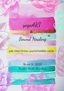 "Workshop ""yogaART & Sound Healing"" 
