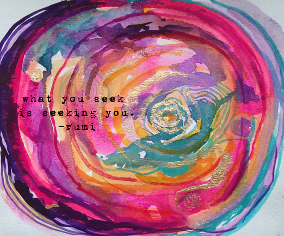 rumi quote art