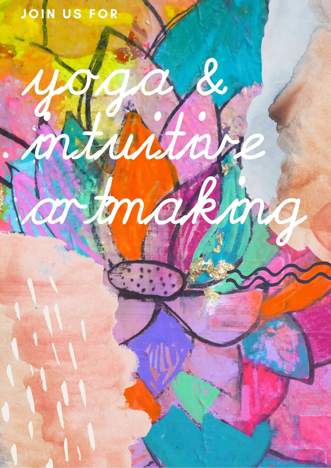 Yoga & Intuitive Artmaking
