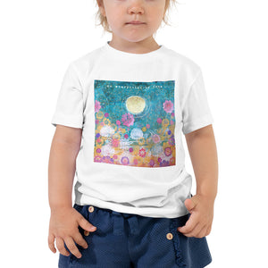 "Toddler Kids Yoga Shirt ""do everything in love"""