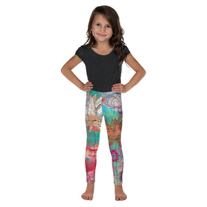 "Kids Yoga Pants ""talk less, feel more"""