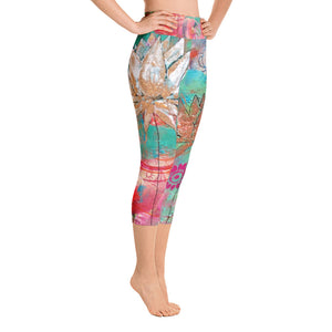 "Yoga Capri Pants ""lotus"""