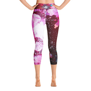 "Yoga Capri Pants ""it is as beautiful as you make it"""