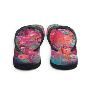 "Flip-Flops ""be foolishly in love, cos love is all there is"""