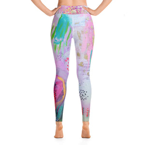 "Yoga Pants ""be the goddess you already are"""