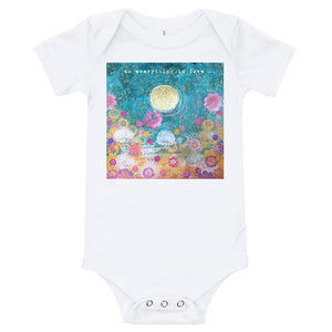 "Yoga Baby Bodysuit ""do everything in love"""
