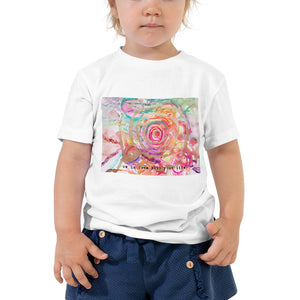"Kids Yoga Shirt ""be in love with your ilfe"""