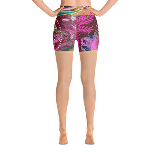 "Yoga Shorts Rumi ""giving thanks for abundance is greater than abundance itself"""