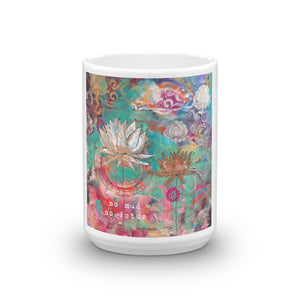 "Mug ""no mud, no lotus"""