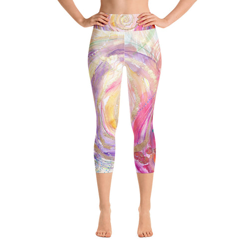 Yoga Capri Pants Rumi