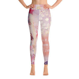 "Yoga Pants ""lean towards joy"""