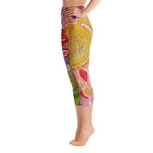 "Yoga Capri Pants ""love yourself"""
