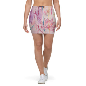 "Mini Skirt ""lean towards joy"""