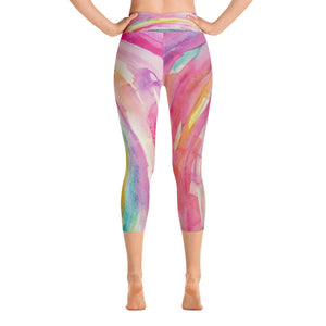 "Yoga Capri Pants ""trust"""