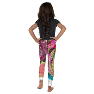 "Kids Yoga Pants ""abundance"""