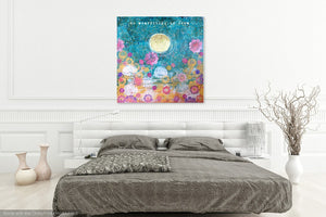 spiritual nursery wall art