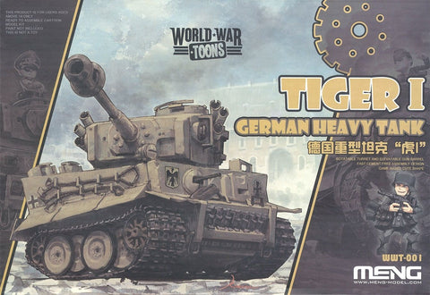 WORLD WAR TOONS TIGER I GERMAN HEAVY TANK