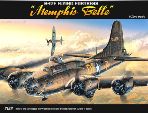 1/72 B-17F MEMPHIS BELLE FLYING FORTRESS