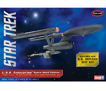 1/1000 Star Trek TOS USS Enterprise Space Seed Edition