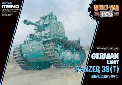 WORLD WAR TOONS GERMAN LIGHT PANZER 38(T)