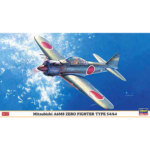 1/48 A6M8 Zero Fighter Type 54/64