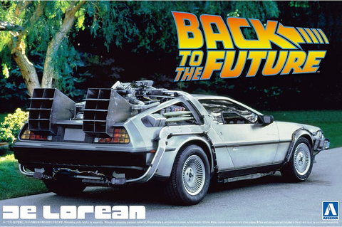 1/24 BACK TO THE FUTURE DELOREAN from PART I