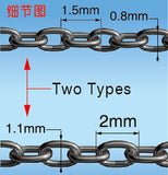 40cm universal fine chains set (two types)