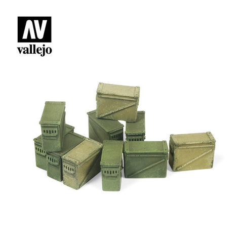 1/35 Large Ammo Boxes 12.7 mm
