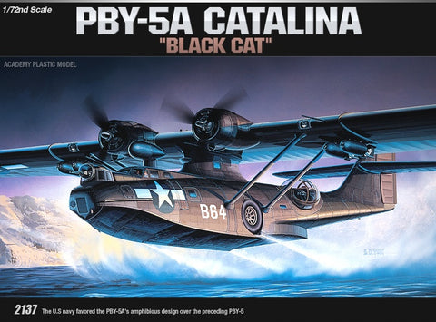 1/72 PBY-5A Catalina Plastic Model Kit *Aus Decals*