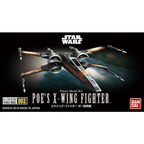 VEHICLE MODEL 003 POE'S X-WING FIGHTER