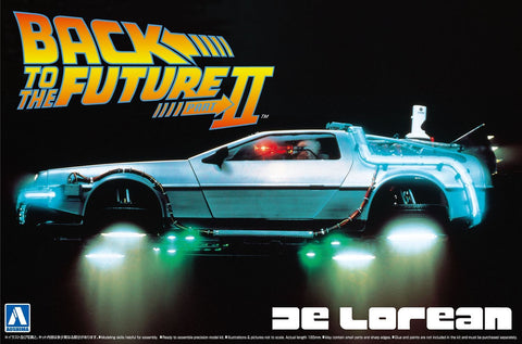 1/24 BACK TO THE FUTURE DELOREAN from PART II