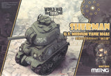 WORLD WAR TOONS SHERMAN U.S. MEDIUM TANK M4A1