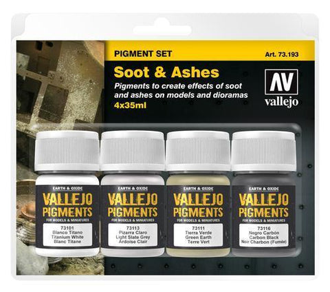 PIGMENTS SOOT AND ASHES 4 X 35ML