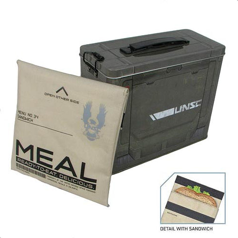 Halo 4 Ammo Crate Tin Lunch Box