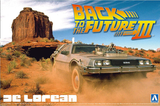 1/24 BACK TO THE FUTURE DELOREAN from PART III & RAILROAD Ver