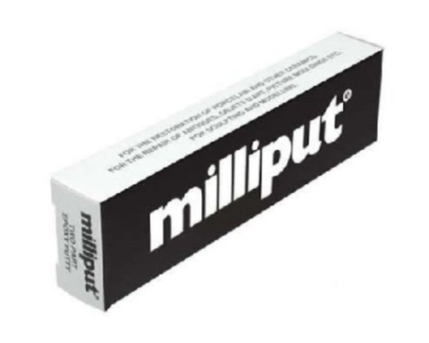 Milliput Black 2 Part Putty Epoxy (damaged packaging)