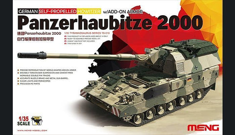 1/35 PANZERHAUBITZE 2000 SELF-PROPELLED HOWITZER W/ADD-ON ARMOR
