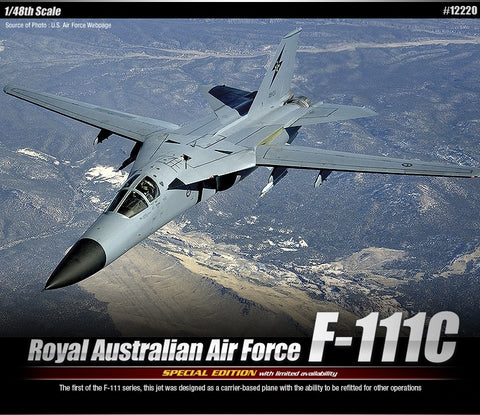 1/48 Royal Australian Air Force F-111C: LE *Aus Decals